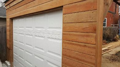 installed door at new construction
